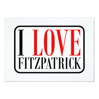 Fitzpatrick  Alabama 13 Cm X 18 Cm Invitation Card