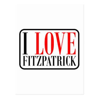 Fitzpatrick  Alabama Postcard