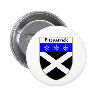 Fitzpatrick Coat of Arms/Family Crest 6 Cm Round Badge
