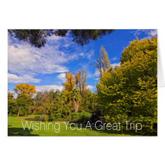 Fitzroy Gardens in East Melbourne Australia Greeting Card