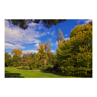Fitzroy Gardens in East Melbourne Australia Posters