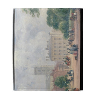 Fitzroy Square, London (oil on panel) iPad Case