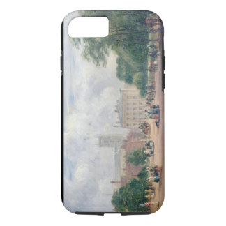Fitzroy Square, London (oil on panel) iPhone 8/7 Case