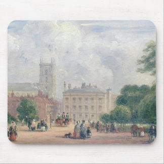 Fitzroy Square, London (oil on panel) Mouse Mat