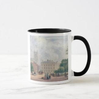 Fitzroy Square, London (oil on panel) Mug