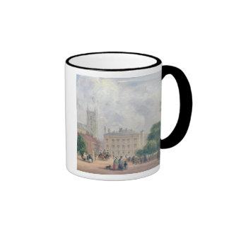 Fitzroy Square, London (oil on panel) Coffee Mug
