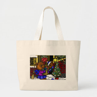 Fitztown Teddy Xmas Jumbo Tote Bag