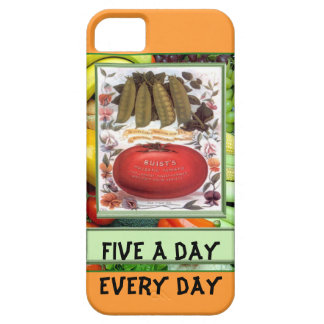Five a day, every day case for the iPhone 5