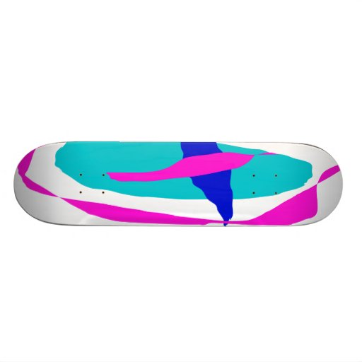 Five Abstracts Skate Board Decks