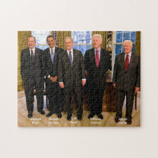 Five American Presidents Jigsaw Puzzle