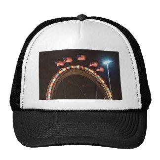 Five American USA Flags Trucker Hat
