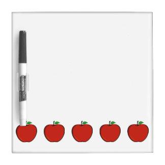 Five Apple Dry Erase Board