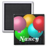 Five Birthday Balloons