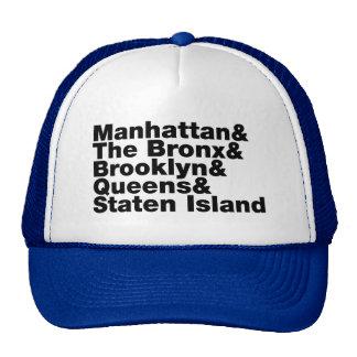 Five Boroughs ~ New York City Cap