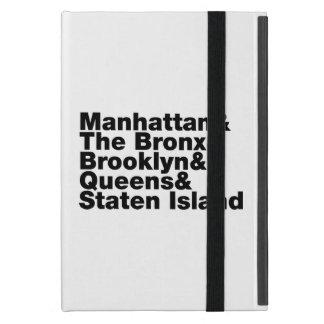 Five Boroughs ~ New York City Case For iPad Mini
