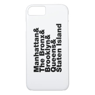 Five Boroughs ~ New York City iPhone 8/7 Case