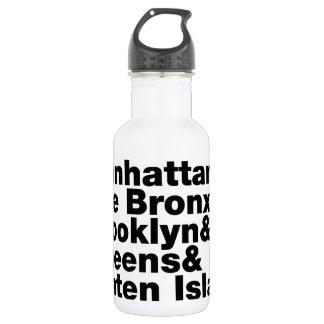 Five Boroughs ~ New York City 532 Ml Water Bottle