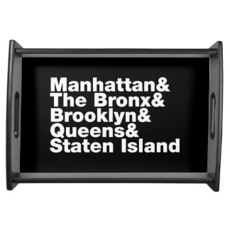 Five Boroughs ~ New York City Serving Tray