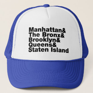 Five Boroughs ~ New York City Trucker Hat