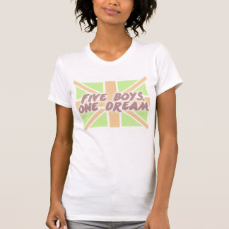 """Five boys. One Dream."" T-Shirt"