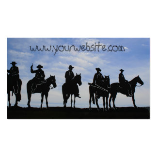 Five Cowboys Business cards