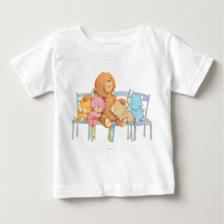 Five Cuddly and Colorful Bears On Chairs Baby T-Shirt