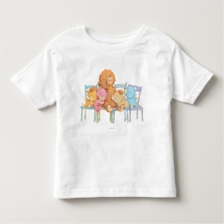 Five Cuddly and Colorful Bears On Chairs Toddler T-Shirt