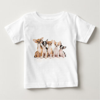 Five cute puppies baby T-Shirt