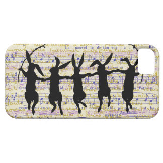 Five Dancing Bunnies iPhone 5 Case