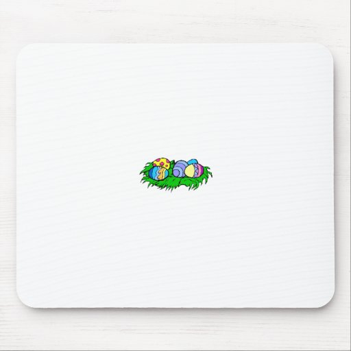 Five Easter Eggs Mouse Pad