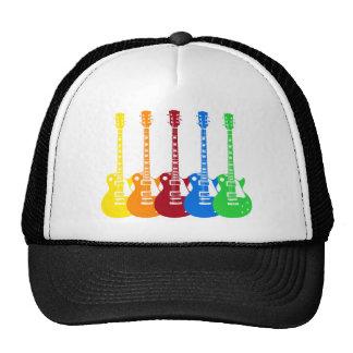 Five Electric Guitars Cap