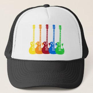 Five Electric Guitars Trucker Hat