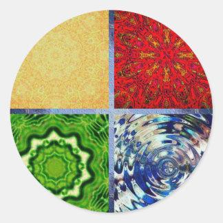 Five Elements Classic Round Sticker