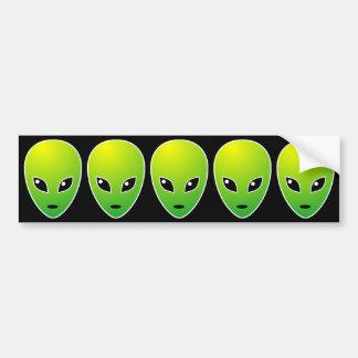 Five ETs Bumper Sticker