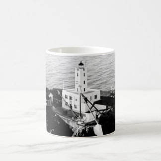 Five Finger Islands Lighthouse Basic White Mug