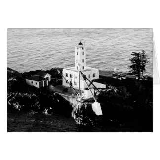 Five Finger Islands Lighthouse Greeting Card