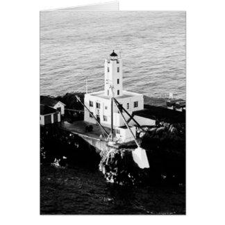 Five Finger Islands Lighthouse Greeting Card