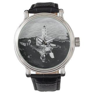 Five Finger Islands Lighthouse Wrist Watch