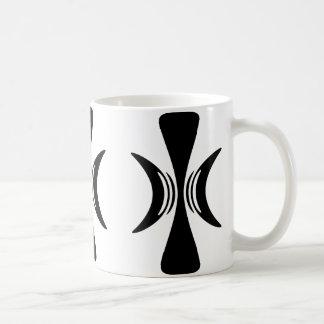 Five Fingered Hand of Eris Basic White Mug