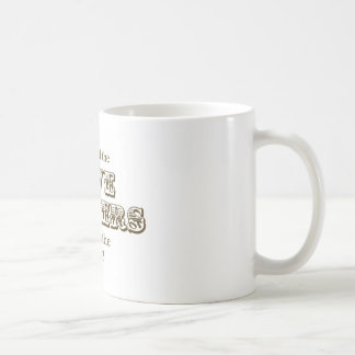 Five Fingers Basic White Mug