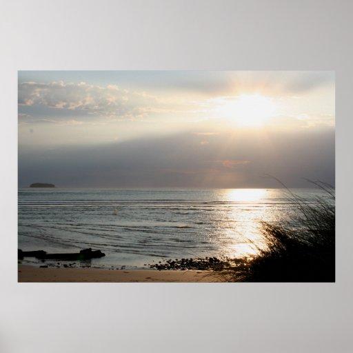 Five Fingers Beach, Inishowen Poster