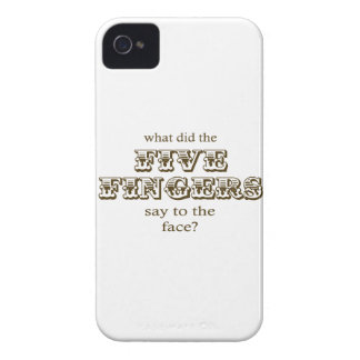 Five Fingers Case-Mate iPhone 4 Case