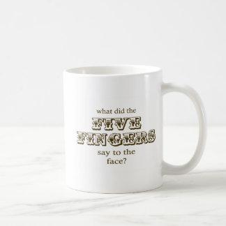Five Fingers Mug