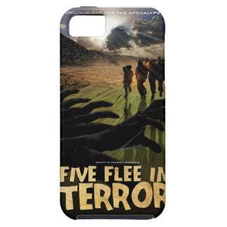 Five Flee in Terror Phone Case