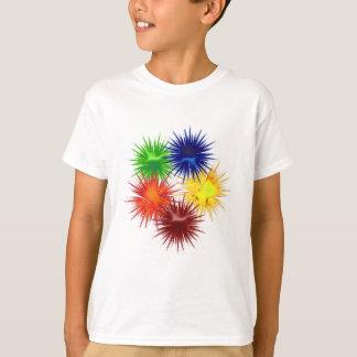 Five fractal Paintballs T-Shirt