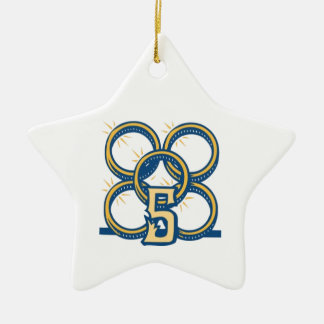 Five Gold Rings! Christmas Ornament