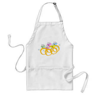 Five Gold Rings Standard Apron