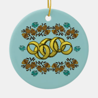 Five Golden Rings Ornaments