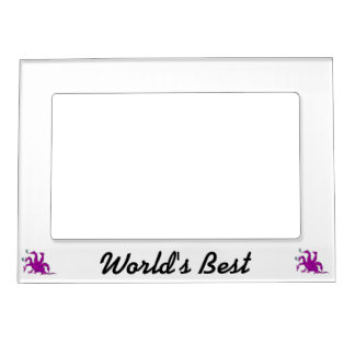 Five headed purple dragon.png magnetic frame