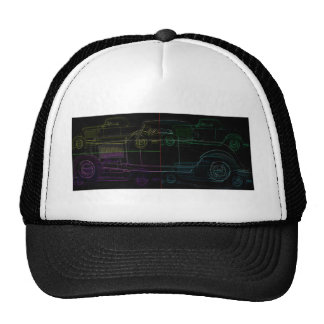 FIVE IMAGE COUPE IN NEON CAP